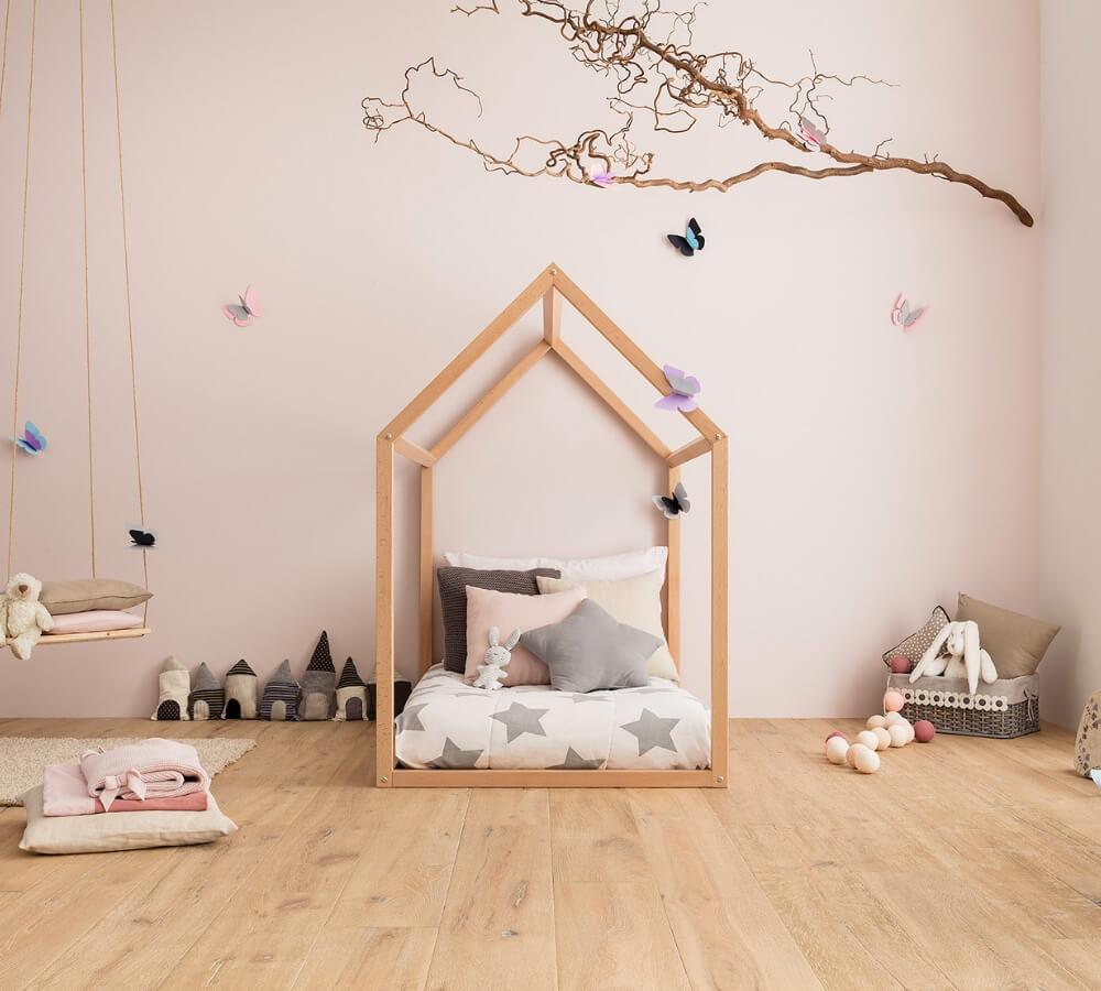 Letto Montessori.Montessori House Toddler Bed Handmade In Italy Babylodge Aria