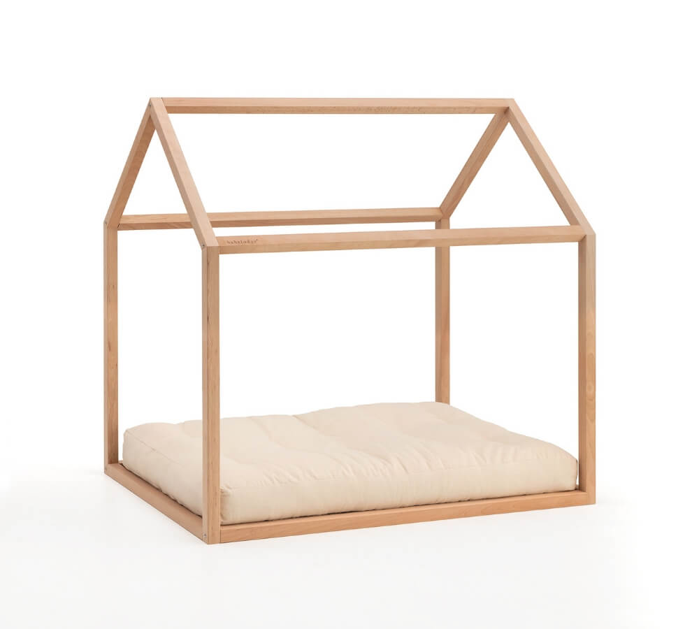 house-shaped Montessori floor bed