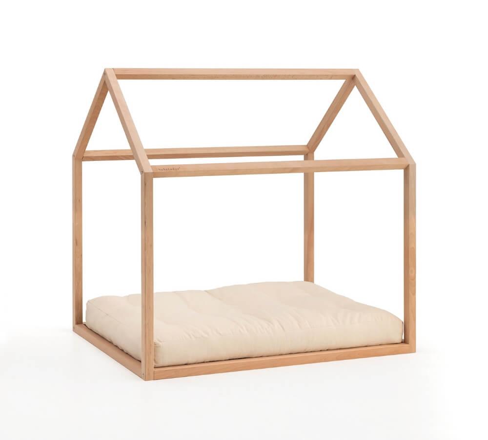 Babylodge® lettino basso a forma di casetta