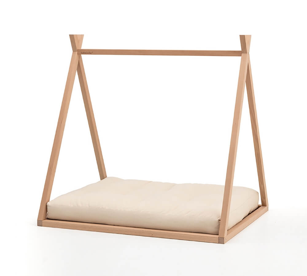 Babylodge® lettino basso a forma di tenda tepee