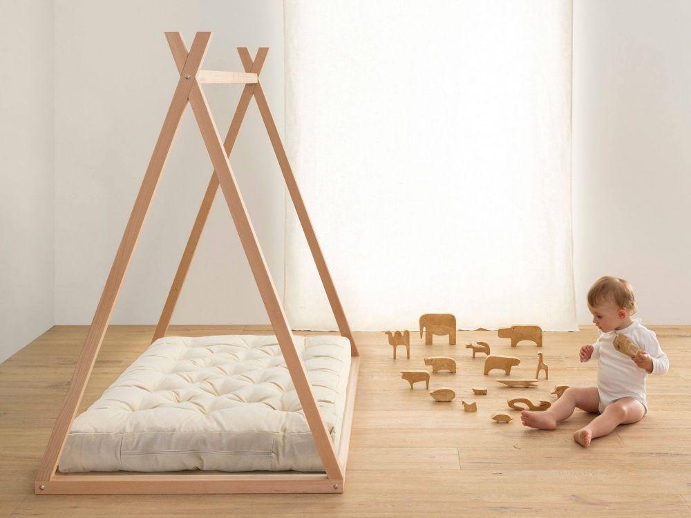 montessori lettino a misura di bambino