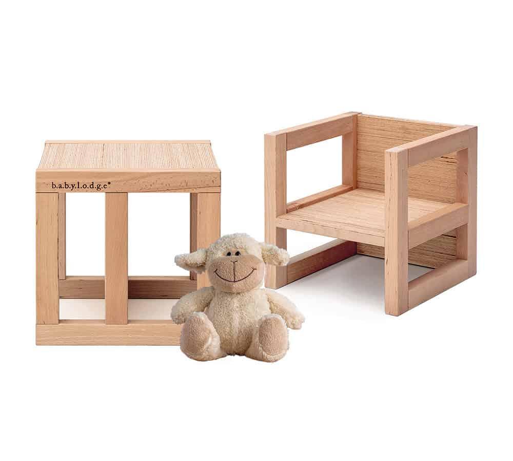 sedia e tavolo montessori